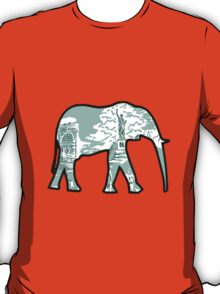 Lilly Print Elephant 7 T-Shirt