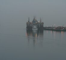 Cromarty Firth In The Mist by Alex Young