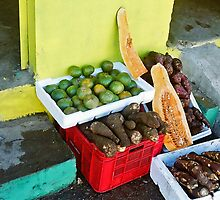 Dominican fruit by cowboy