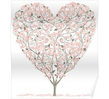 Heart Tree Poster
