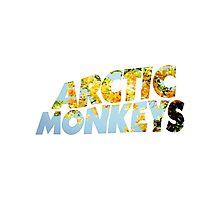 arctic monkeys flower logo (yellow) Photographic Print