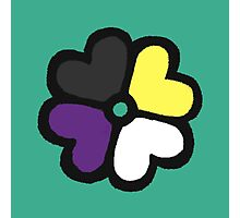 Lucky NB Pride Clover Photographic Print