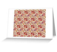 Happy Pattern Greeting Card