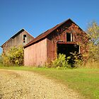 Old Barns in Autumn by LeeMascarello