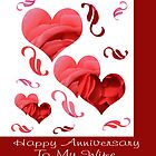 Happy Anniversary To My Wife by Peri