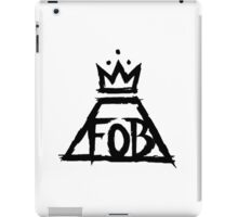 Fall Out Boy Logo iPad Case/Skin
