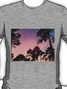 Sunset - Clouds, wind and trees #3 T-Shirt