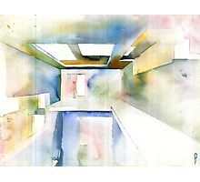 Abstract Interior Photographic Print