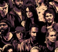 The Walking Dead Reunion Sticker