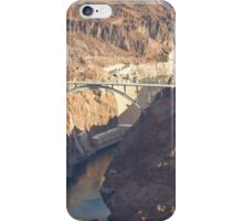 Hoover Dam and Hoover Dam Bypass Bridge iPhone Case/Skin
