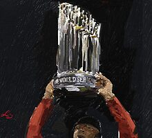 world series trophy by lizwaltzes