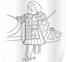 A Complete Guide to Heraldry - Figure 16 — A Herald (Temp Hen VIII) Poster