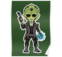 Mass Effect 3: Thane Krios Chibi Poster