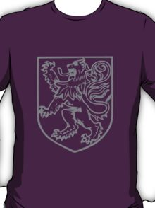 A Complete Guide to Heraldry - Figure 283 — A lion rampant (By Miss Helard) T-Shirt