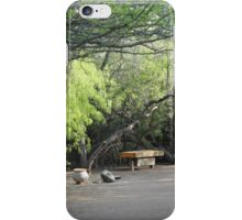 Bench & Tree Arches  iPhone Case/Skin