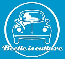 VW Beetle is culture (white) by GET-THE-CAR