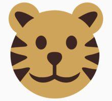 Comic tiger head by Designzz