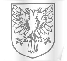 A Complete Guide to Heraldry - Figure 455 — Double-headed eagle displayed Poster
