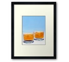 Bundaberg on the rocks  Framed Print