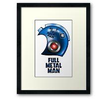 Full Metal Man Framed Print