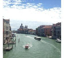 The Grand Canal - Venice Photographic Print