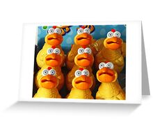 Oh No !! Did Someone Mention Stuffing ?????? Greeting Card