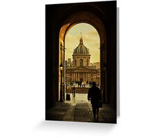 from paris with love Greeting Card