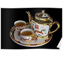Chinese Tea Set  Poster