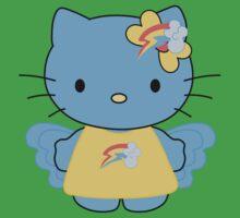 Rainbow Dash Hello Kitty - Full Body Kids Clothes