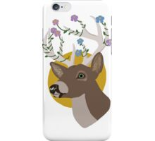 white tailed deer iPhone Case/Skin