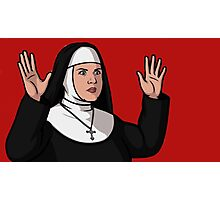 Pam the Nun Photographic Print