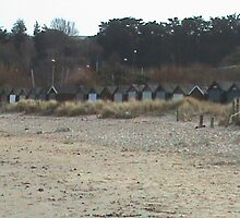 Beach Huts by James Marshall