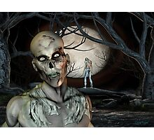 Zombie Malevolence Photographic Print