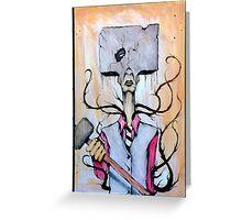 Sledge Head Greeting Card