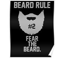 Beard Rule #2 Poster