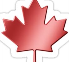 Canadian Flag - Canada - Metallic Sticker