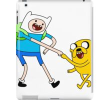 advanture time fun iPad Case/Skin