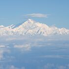 Mount Everest from the Air by Carole-Anne