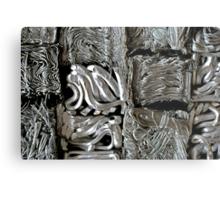 Cubic Crush Metal Print