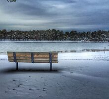 Winter bench by ErangleroDesign
