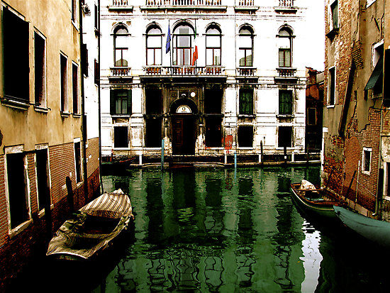 GREEN STREETS OF VENICE by Scott  d'Almeida