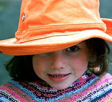 My Groovy Orange Hat  by Jabelico