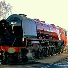 The Duchess Of Sutherland Fired Up by PICMART