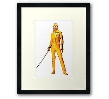 Uma Thurman (Kill Bill) Framed Print