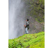 Gocta Falls, the third largest in the world (771m). Amazonas, Peru  Photographic Print