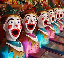 clown games by Hannah Saldaris