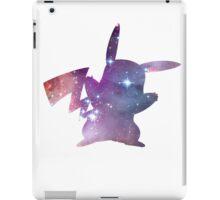 cosmic pikachu iPad Case/Skin
