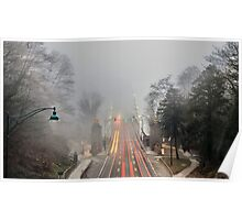 Foggy Day Poster