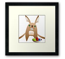 Easter Bunny 3 Framed Print
