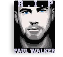 R.I.P Paul Walker Canvas Print